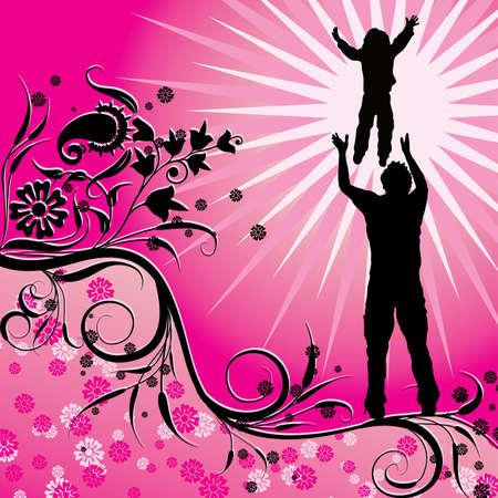 Happy family Stock Photo - 932483