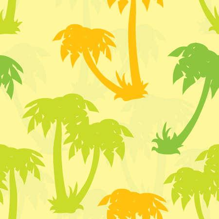 Palms seamless pattern photo