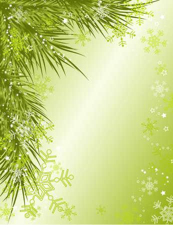 artwork: Christmas background, vector illustration Illustration
