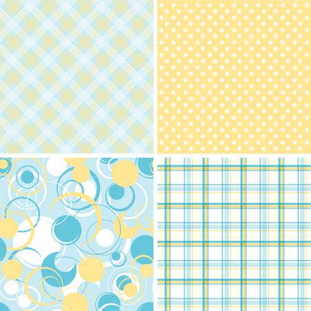 Plakboek patronen voor ontwerp, vector illustration