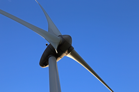 Wind Turbine Closeup View photo