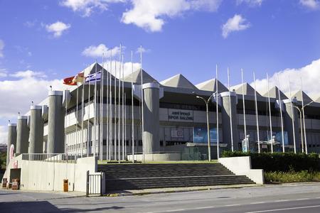 sports complex: Exterior view of Abdi Ipekci Arena formerly known as Abdi Ipekci Sports Complex located in the Zeytinburnu district of Istanbul Turkey