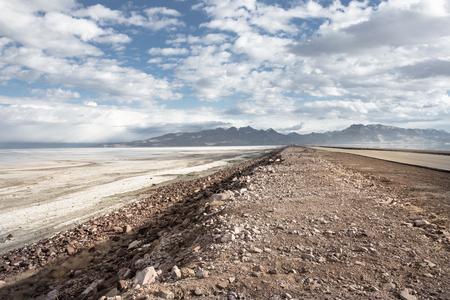 Urmia salt lake, Urmia, Iran