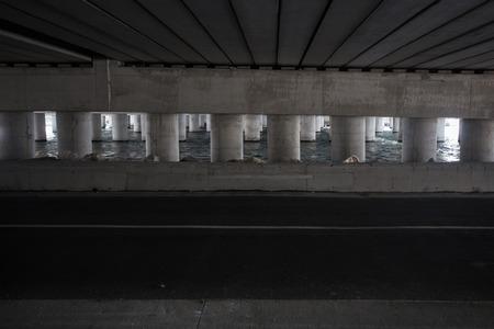 Underpass highway