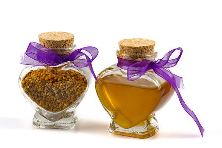 pollen: Honey and pollen jar