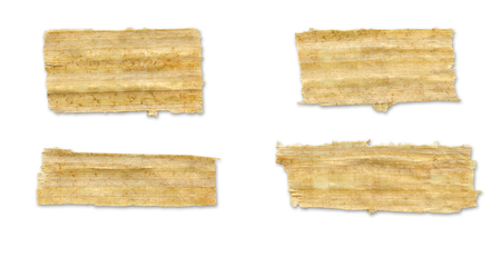 ���clipping path���: Papyrus Torn Paper.With Clipping Path