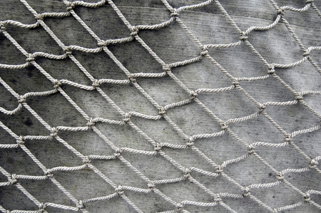Old fishing net photo