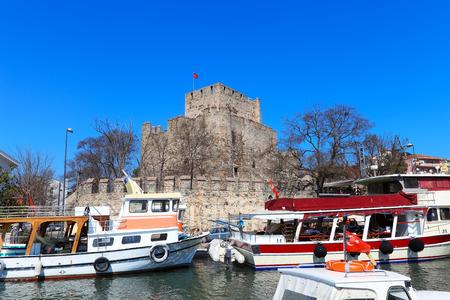 hisari: Anatolian Castle in Istanbul, Turkey