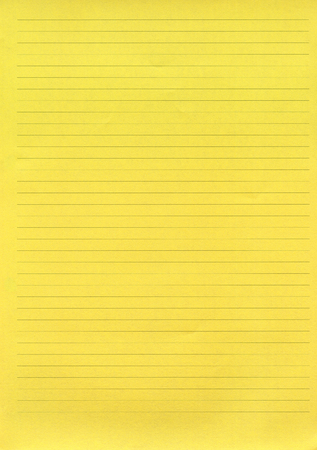 xxxl: XXXL size yellow lined paper Stock Photo