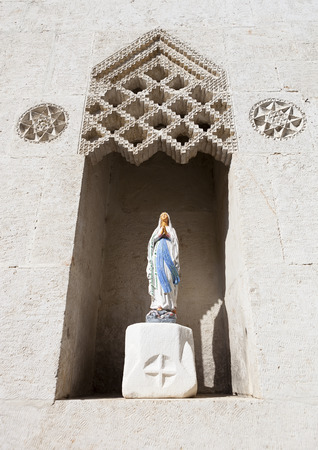 Mother Mary: Virgin mary statue, Hatay, TURKEY