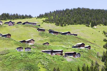 kackar: Plateau Pokut on Kackar Mountains in Turkey Stock Photo