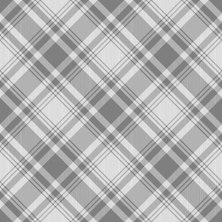 Seamless plaid fabric pattern. Checkered texture