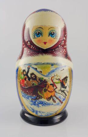 Eine russische Puppe  Standard-Bild - 7510641
