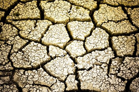 dry ground with cracks 1 Foto de archivo
