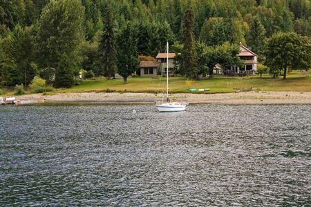 lakeview: a white yacht 5