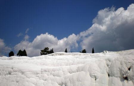 Pamukkale -  cotton castle  in turkish Denizli Province Stock Photo - 24795145
