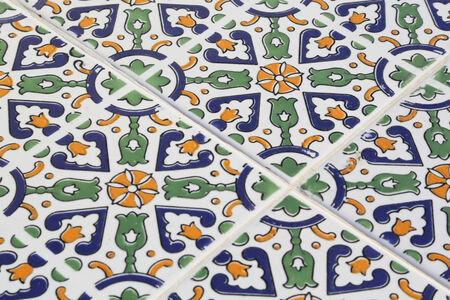 tunisian: tunisian style tile pattern
