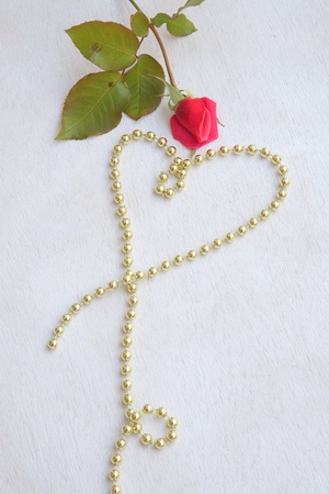 perls: Valentines Day background