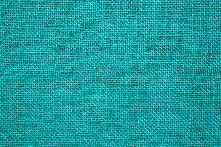 sackcloth: Cyan decorative sackcloth - background.