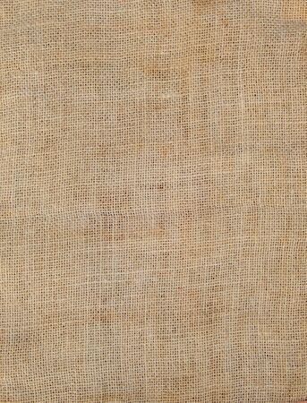 sackcloth: Brown sackcloth fabric - background