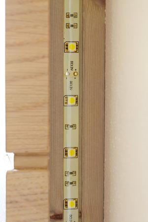 diode: Diode LED tape. Closeup
