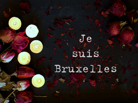 Bruxelles: Je suis Bruxelles. Translation from French into English I am Brussels