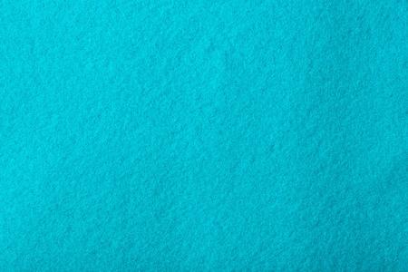 cyan: Cyan coloured felt - background.