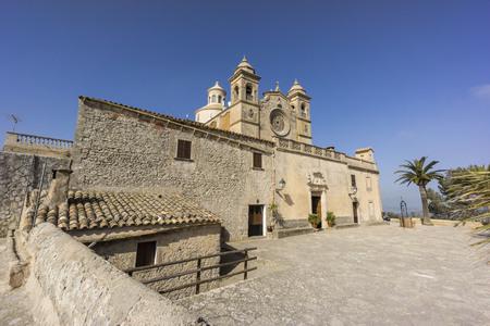 hermits: Ermita de Bonany,siglo XVII, Petra, Mallorca, balearic islands, spain, europe
