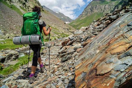 Gistau valley, Posets-Maladeta natural park, Huesca, Pyrenees mountain range, Spain Editorial