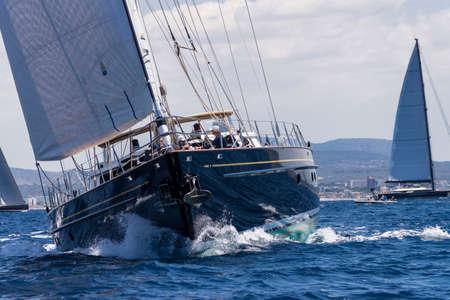 The Superyacht Cup Palma, bahia de Palma, Mallorca, balearic islands, spain, europe Publikacyjne