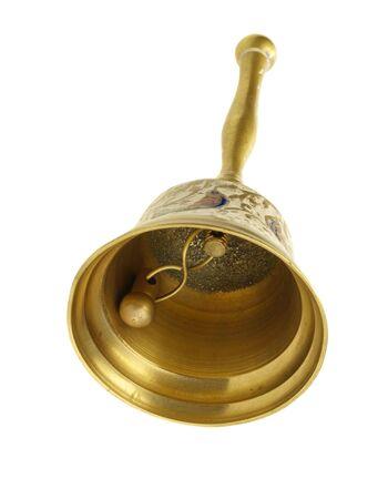 handbell: vintage handbell Stock Photo