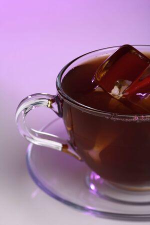 backlite: Tea cup with color backlite