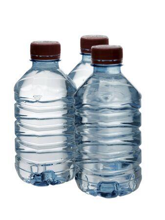 purified: Agua purificada de primavera en las botellas