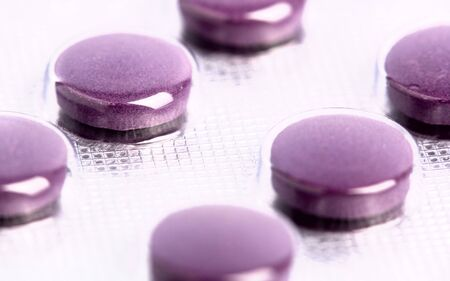medical pills as abstract backgrounds with shallow focus Stock Photo - 11221318