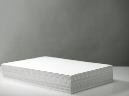 copier: Stapel van witte print-en kopieerpapier
