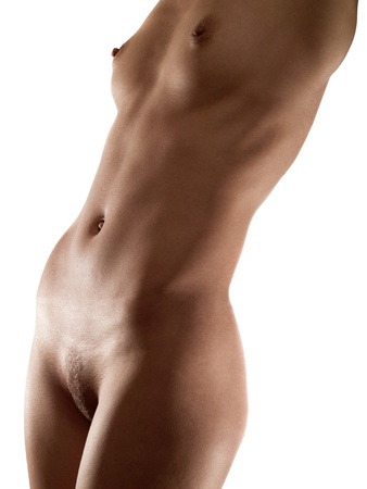 Abstract female body part view Stock Photo - 13230893