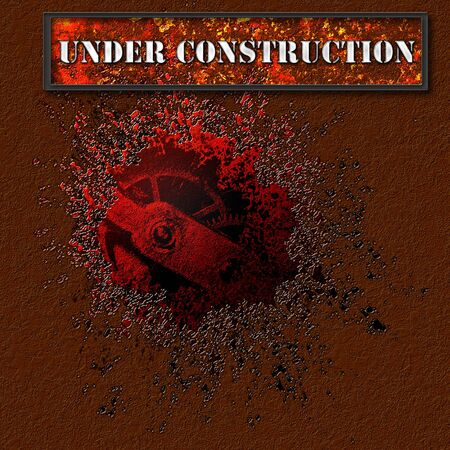 Under construction  Web page abstract grunge backgrounds photo