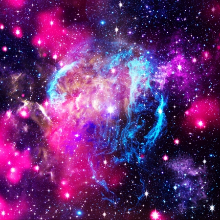Deep space. Abstract natural backgrounds photo
