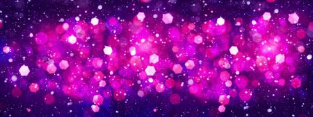 Abstract celebration backgrounds with beauty bokeh photo