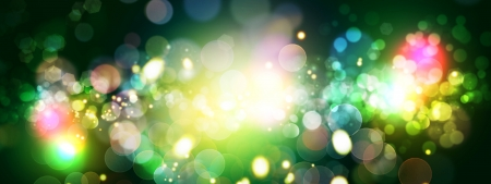 good evening: Abstract celebration backgrounds with beauty bokeh