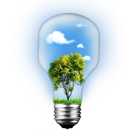 alternative energy sources: Abstract environment and technology backgrounds over white