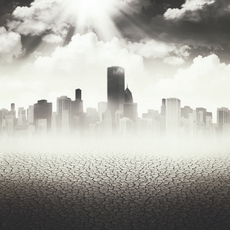 Abstract Apocalyptic backgrounds for your design photo