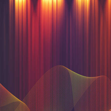Abstract illuminated striped backgrounds for your design photo