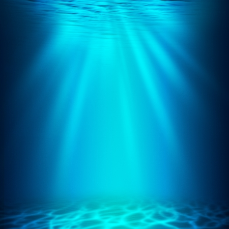 Abyss. Abstract underwater backgrounds for your design photo