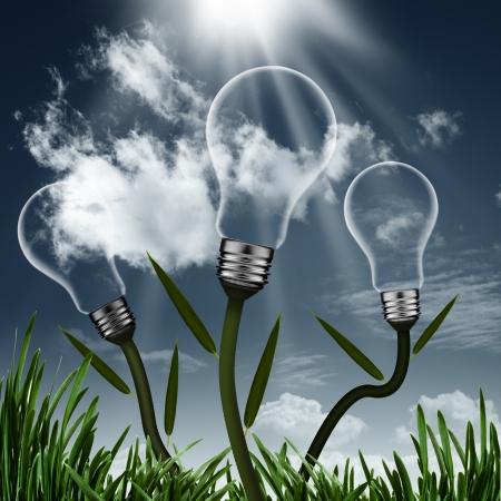 recursos naturales: Abstract backgrounds alternativas de energía para su diseño Foto de archivo