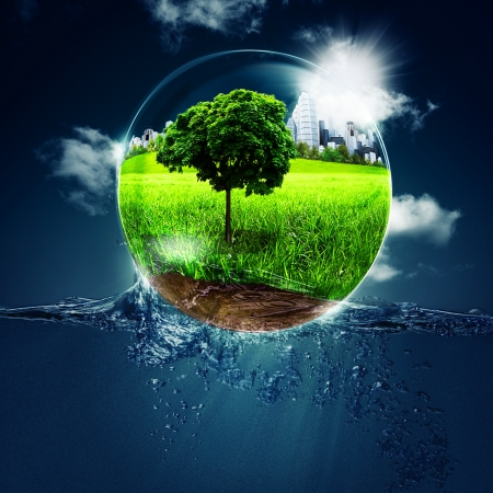 Abstrait environnementales pour la conception de votre Banque d'images - 17461810