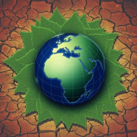 madre tierra: Resumen antecedentes ambientales para el dise�o de su Foto de archivo