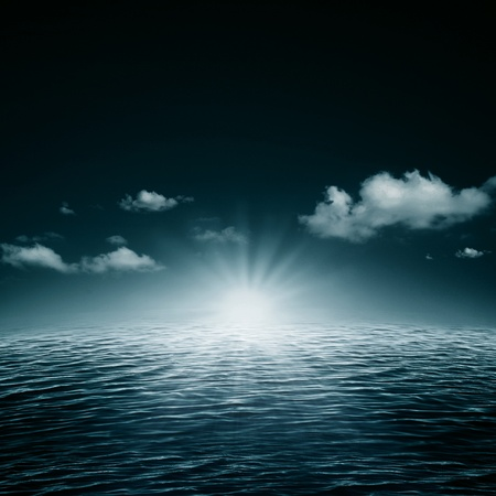 water scape: Water symphony. Abstract natural backgrounds Stock Photo