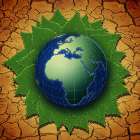 Green Earth. Abstract environmental backgrounds Stock Photo - 17655886