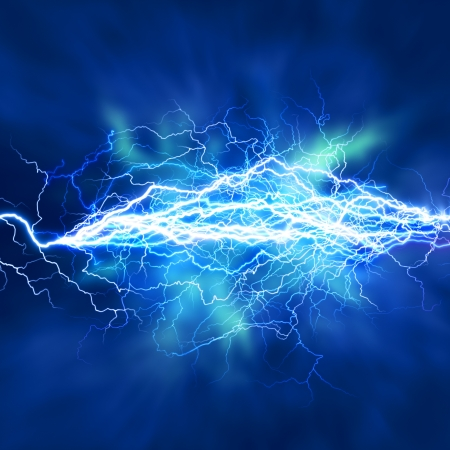 electric energy: Electric lighting effect, abstract techno backgrounds for your design